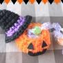 ハロウィンかぼちゃのお菓子入れ【かぎ編み】