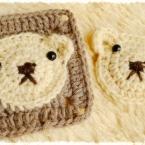 くまちゃんモチーフの編み方