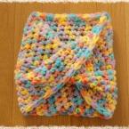 メビウス・スヌードの編み方