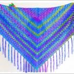 冷房対策☆簡単ショールの編み方♪