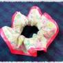 布の縫うガーリー・シュシュの作り方