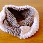 スヌードの編み方♪