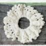 夏っぽシュシュの作り方・編み方