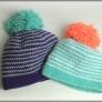 かぎ編みニット帽子メンズ&ディース兼用