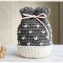 プチハートのプチ巾着の編み方・作り方♪