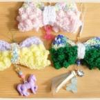 ピコピコリボンの編み方・作り方
