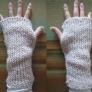 簡単に出来る手袋☆
