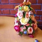 お花のクロカンブッシュ