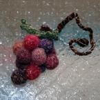 小さなラメの葡萄