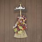 【100均DIY】造花で作るハロウィンリース