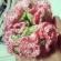 ひらひら三段フリルの花びらシュシュ