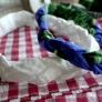 三つ編みカチューム