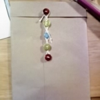 5連ボタンの封筒