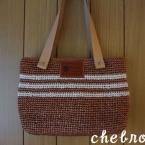 エコアンダリヤの小さめトートバッグ