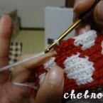 毛糸色の変え方―かぎ針編みー