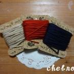 毛糸の巻き板