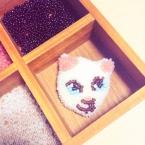 子猫のブローチ