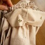 「かんたんスカート」のレシピに使用♪糸ループ