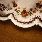 簡単スカートの裾に使用☆かわいいパイピング処理