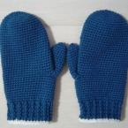 超簡単に編めるシンプルな手袋