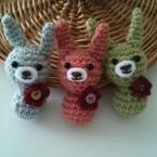 編み編みうさちゃん