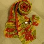 長編みスカーフ