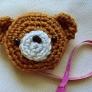 編みクマのメジャーカバー
