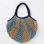 かぎ針「アミュレ」で編む ネット編みのエコバッグ