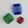 カード型ビーズ織り機で作る ジュエリーブローチ