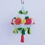 花あみルームで作る パジャキ風シャンデリア