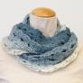 ランドスケープ1玉で編む かぎ針編みのスヌード