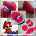 第1弾☆スーパーマリオの帽子とヒゲ