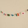 世界の国旗を折り紙で
