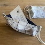 手作り布マスク フィルター用ポケット付き 型紙有り