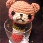 赤ちゃんのおもちゃ*カギ編みのガラガラ
