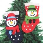 スノーマンのクリスマスブーツ