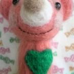 羊毛フェルトのキーホルダー