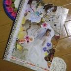 雑誌でコラージュ☆スクラップノート
