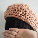 ざっくり編んですぐできる☆ベレー帽