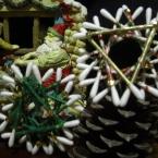 簡単マスキングテープでクリスマスオーナメント