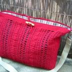 かぎ針編みのショルダー