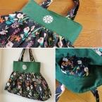 ギャザーバルーンバッグの作り方/ハンドバッグ