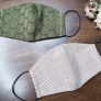 【無料型紙】ダーツ入り立体マスクの作り方