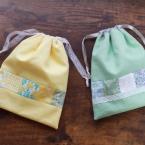 簡単!パッチワーク巾着袋の作り方