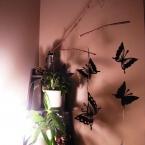 天井から吊るさないでもOKな木の枝モビール