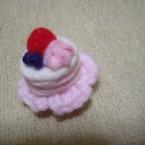 苺とブルーベリーのミニケーキ