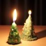 クリスマスツリーのキャンドル 【N*】