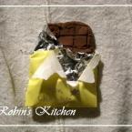 ①粘土でチョコレート