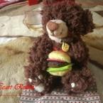 (29)♡Robin の好物チーズバーガー