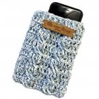 かぎ針編みスマホケース